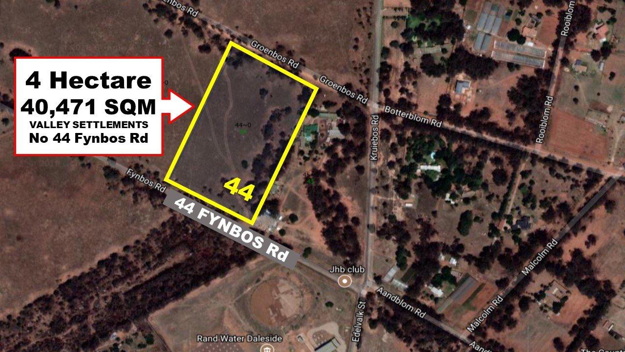 Meyerton, Valley Settlements A H Property  | Houses For Sale Valley Settlements A H, Valley Settlements A H, Vacant Land  property for sale Price:499,000