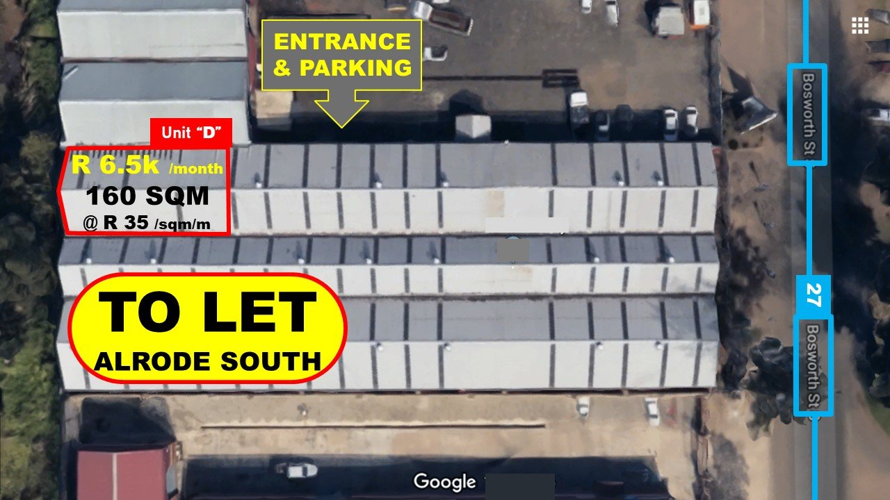 Alberton, Alrode South Property  | Houses To Rent Alrode South, Alrode South, Commercial  property to rent Price:,   ,35*