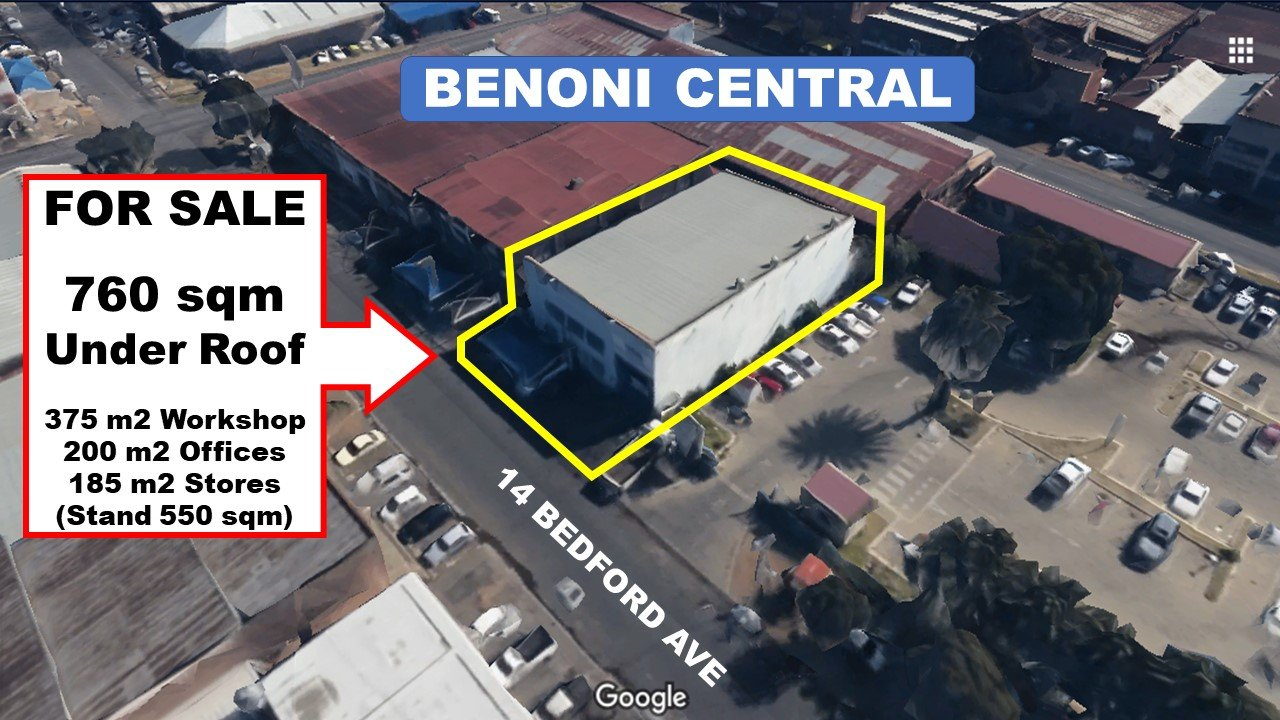 Property and Houses for sale in Benoni, Commercial - ZAR 2,875,000