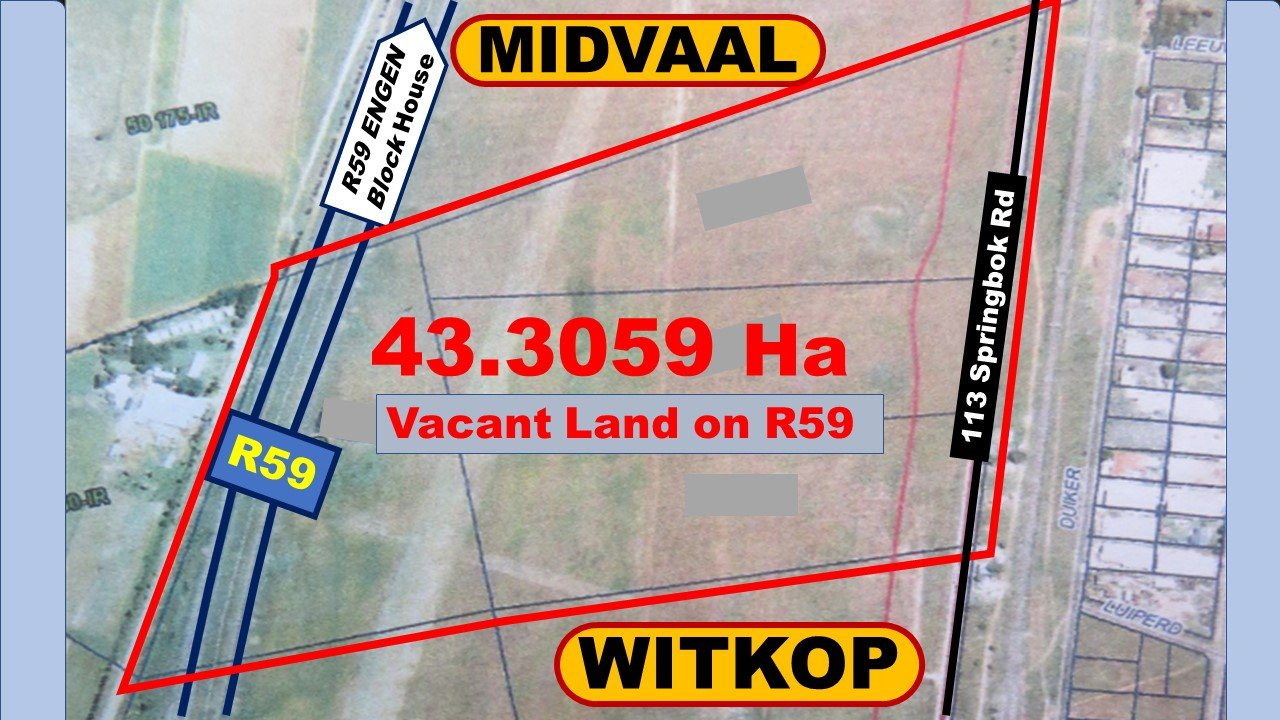Meyerton, Witkop Property  | Houses For Sale Witkop, Witkop, Commercial  property for sale Price:49,000,000