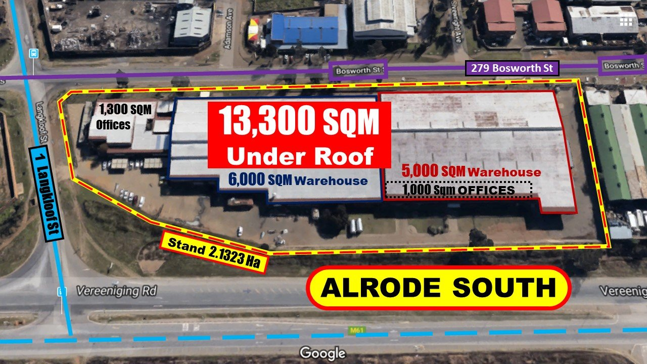 Alberton, Alrode South Property  | Houses For Sale Alrode South, Alrode South, Commercial  property for sale Price:38,000,000
