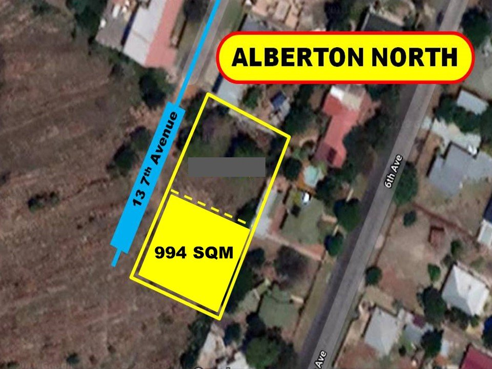 Alberton, Alberton Central Property    Houses For Sale Alberton Central, Alberton Central, Vacant Land  property for sale Price:350,000