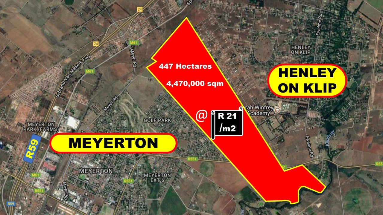 Meyerton, Kliprivier Property  | Houses For Sale Kliprivier, Kliprivier, Farms  property for sale Price:92,000,000