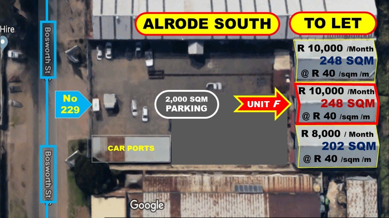 Alberton, Alrode South Property  | Houses To Rent Alrode South, Alrode South, Commercial  property to rent Price:, 10,00*