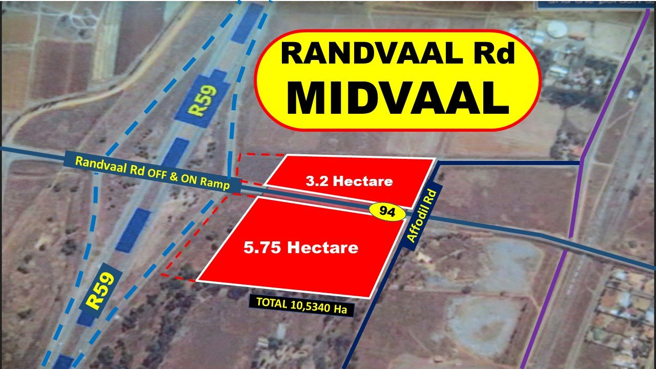 Meyerton, Witkop Property  | Houses For Sale Witkop, Witkop, Vacant Land  property for sale Price:8,000,000