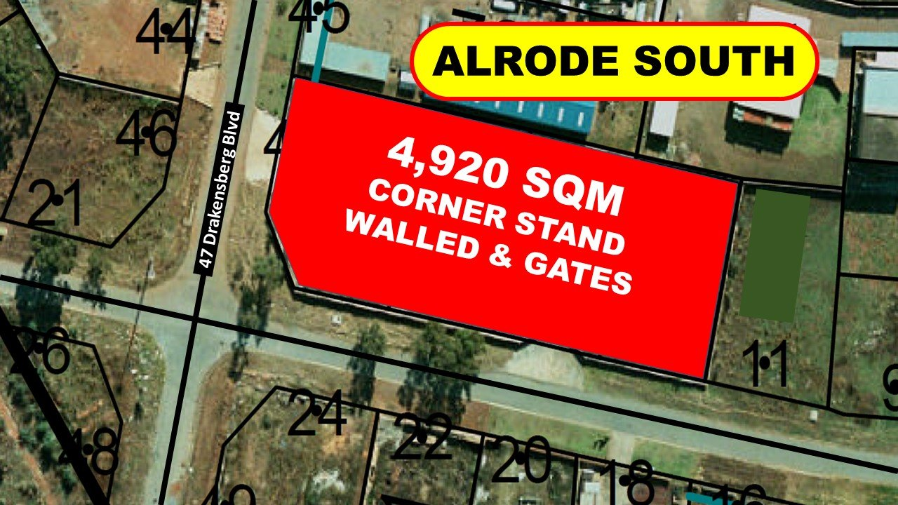 Alberton, Alrode South Property  | Houses For Sale Alrode South, Alrode South, Vacant Land  property for sale Price:2,875,000