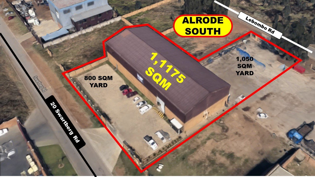 Property and Houses for sale in Alrode South, Commercial - ZAR 7,500,000