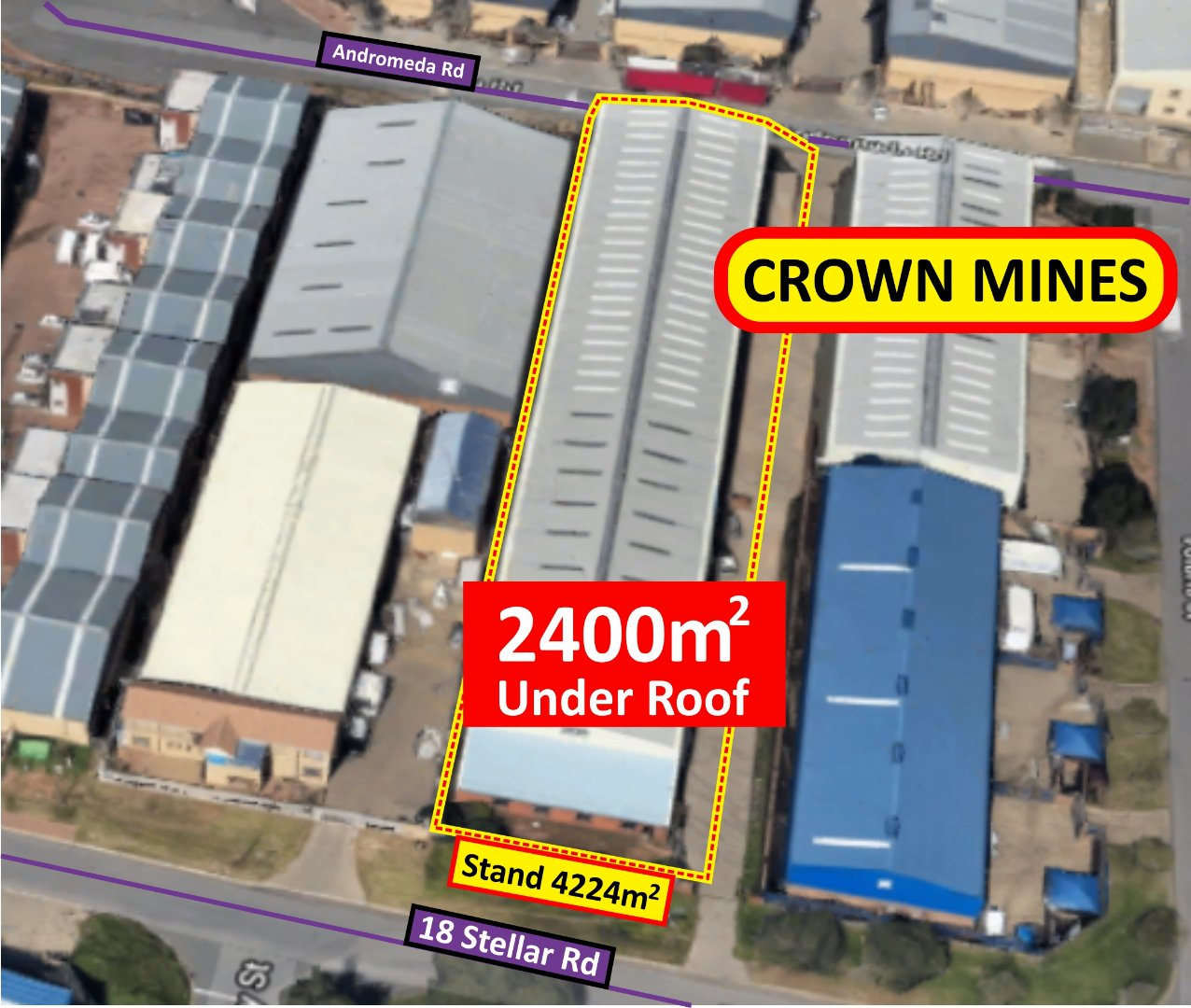 Johannesburg, Crown Property  | Houses For Sale Crown, Crown, Commercial  property for sale Price:16,000,000