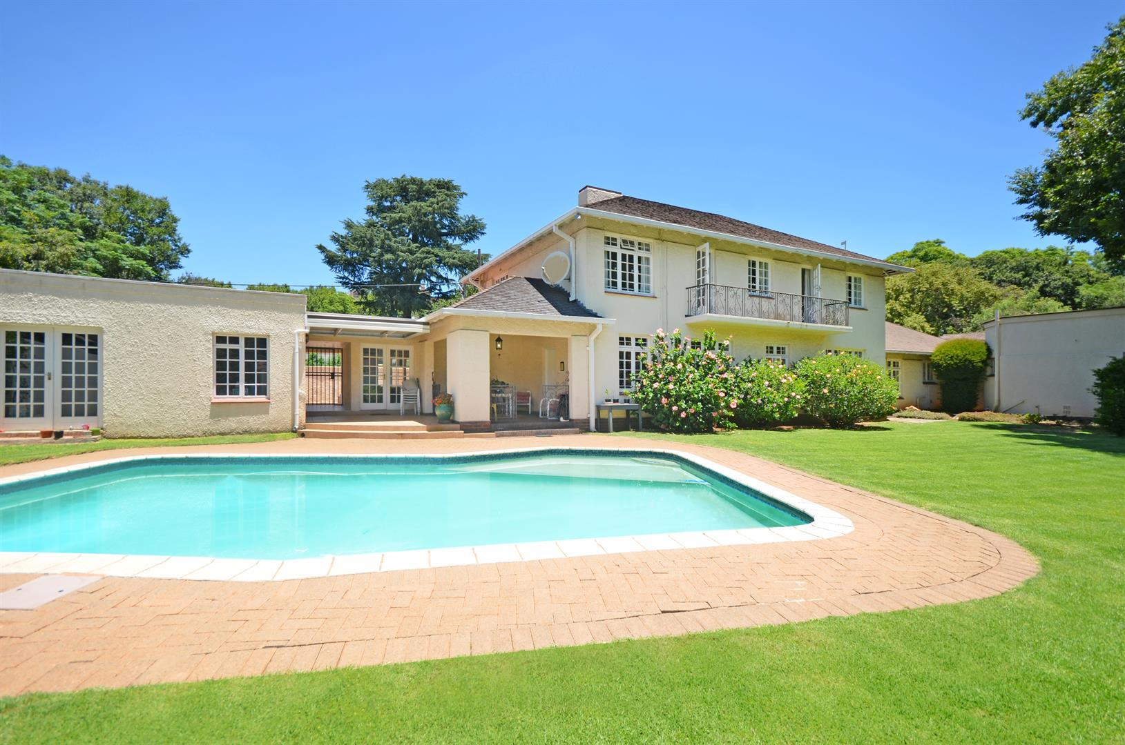 Johannesburg, Houghton Estate Property  | Houses For Sale Houghton Estate, Houghton Estate, House 4 bedrooms property for sale Price:5,700,000