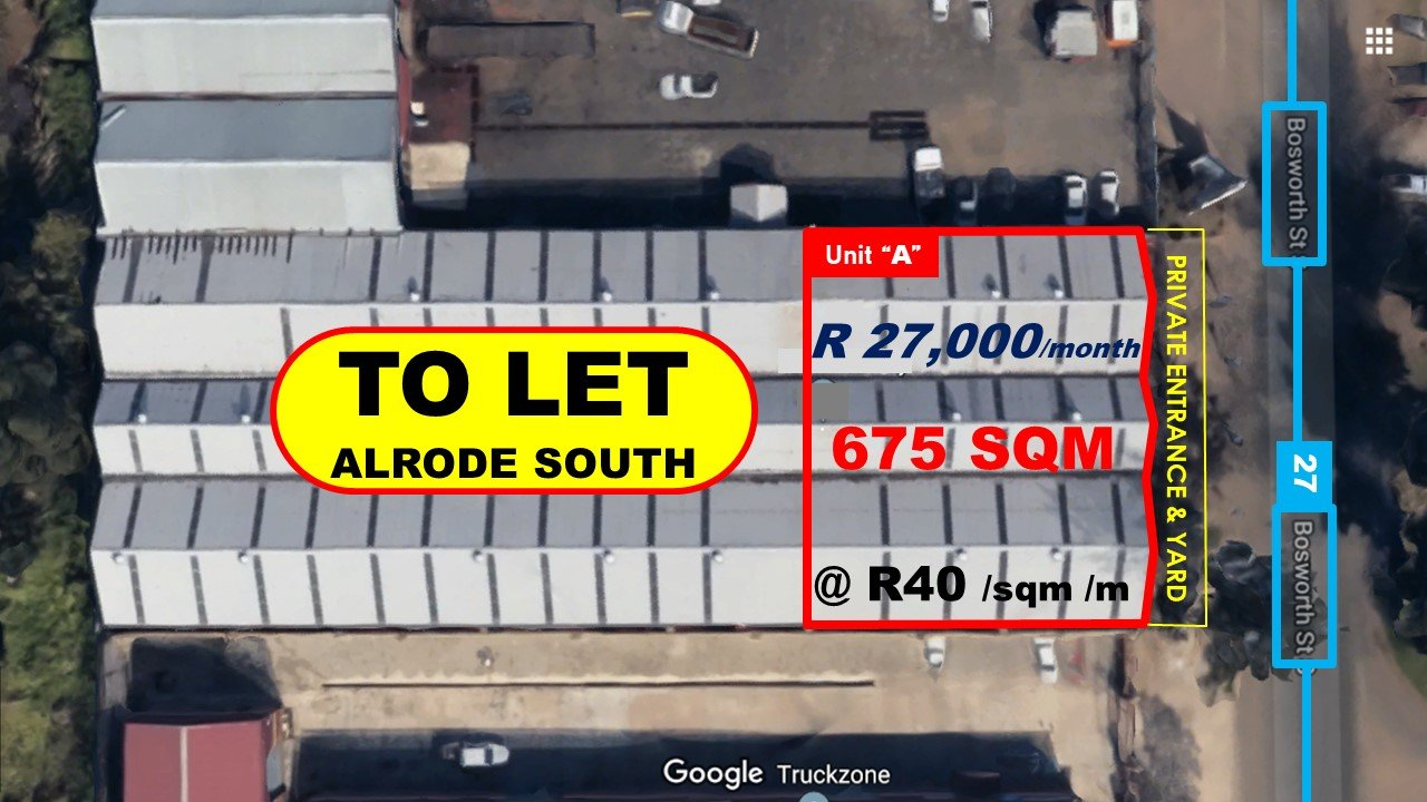 Alberton, Alrode South Property  | Houses To Rent Alrode South, Alrode South, Commercial  property to rent Price:, 27,00*